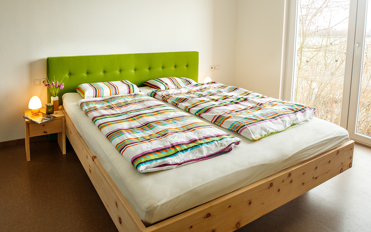 Zirbenbett & Schlafsystem von ProNaturaZirbenbett & Schlafsystem von ProNatura
